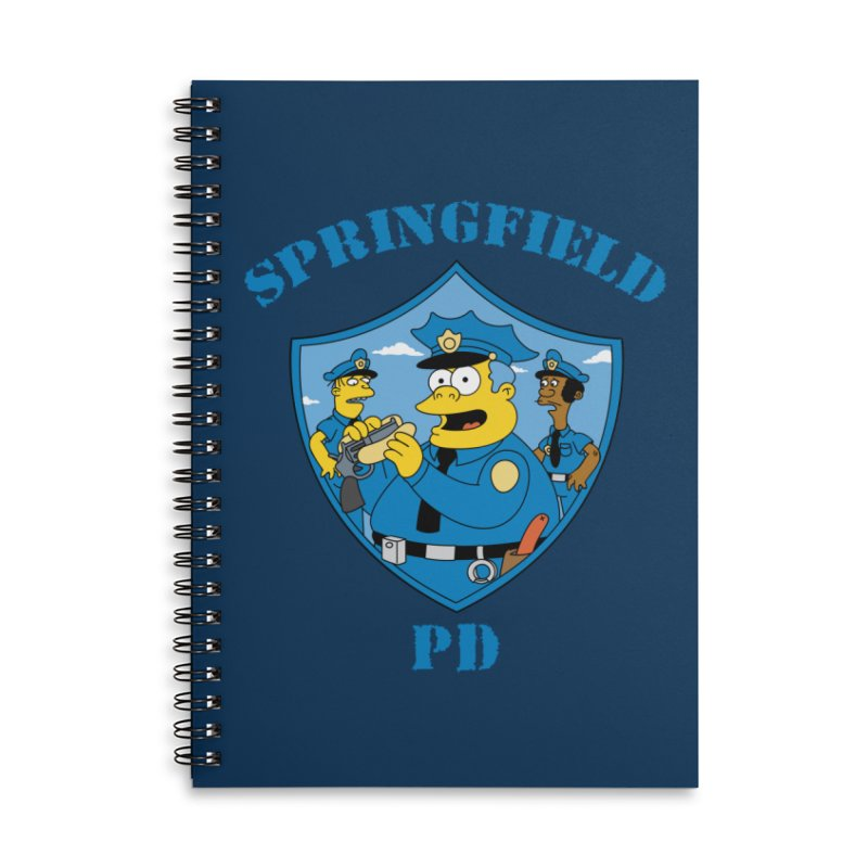 BADCOPS BADCOPS in Lined Spiral Notebook by Made With Awesome
