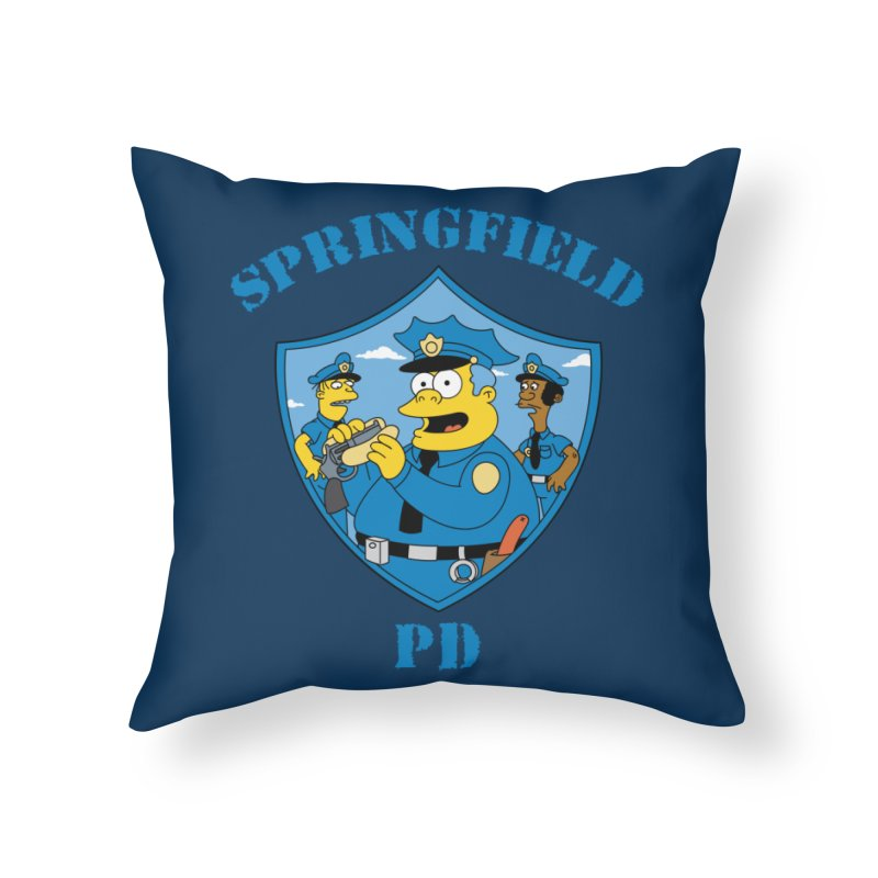 BADCOPS BADCOPS Home Throw Pillow by Made With Awesome