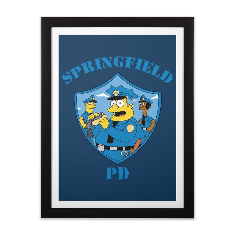 BADCOPS BADCOPS Home Framed Fine Art Print by Made With Awesome