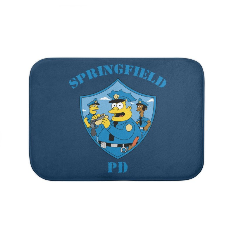 BADCOPS BADCOPS Home Bath Mat by Made With Awesome