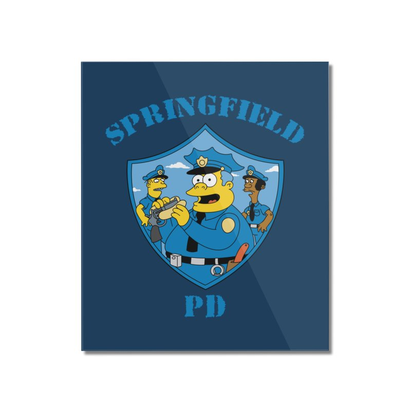 BADCOPS BADCOPS Home Mounted Acrylic Print by Made With Awesome