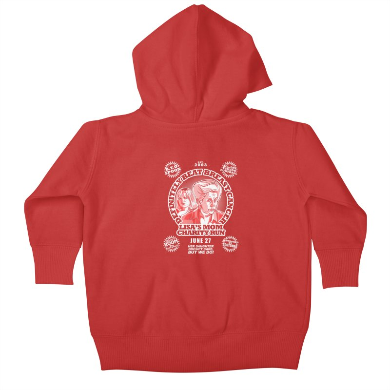 Room Run Kids Baby Zip-Up Hoody by Made With Awesome