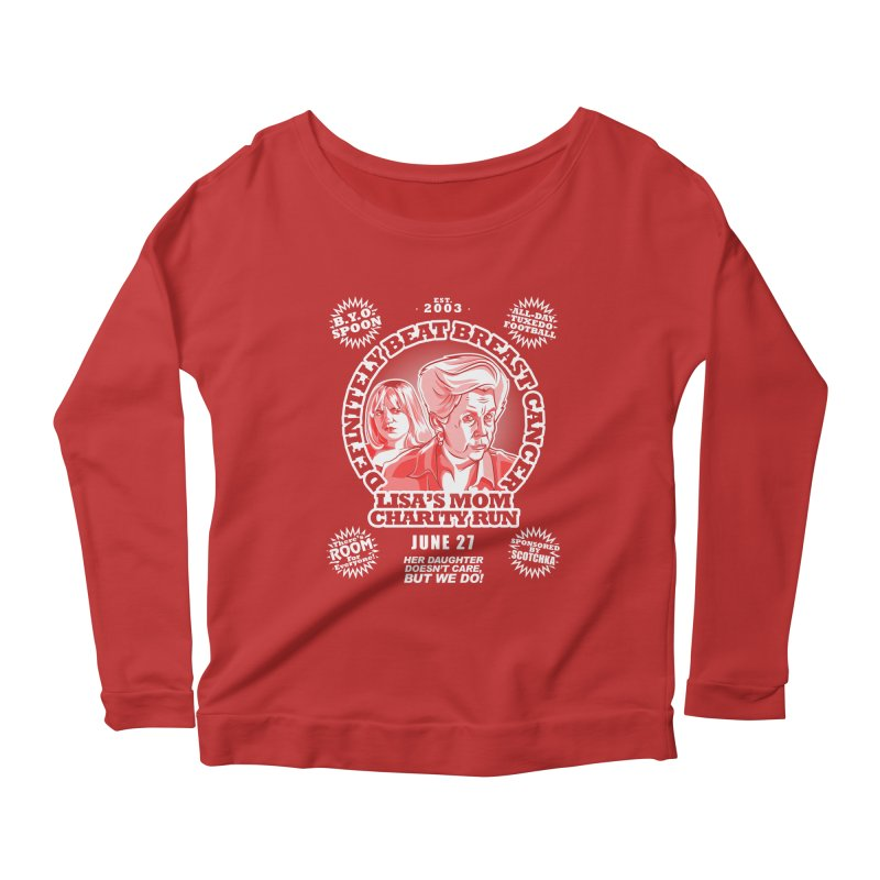 Room Run Women's Longsleeve Scoopneck  by Made With Awesome