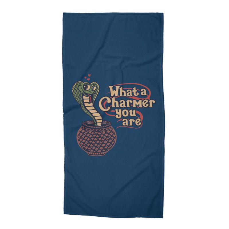 Charmed I'm Sure Accessories Beach Towel by Made With Awesome