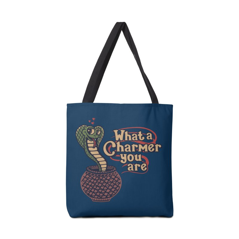 Charmed I'm Sure Accessories Bag by Made With Awesome