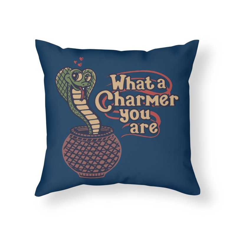 Charmed I'm Sure Home Throw Pillow by Made With Awesome