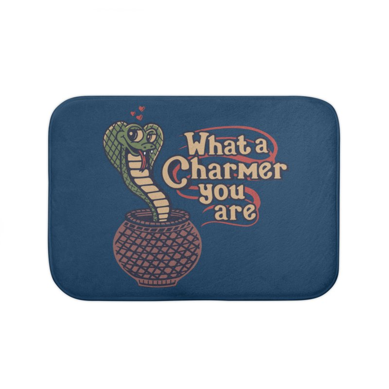 Charmed I'm Sure Home Bath Mat by Made With Awesome