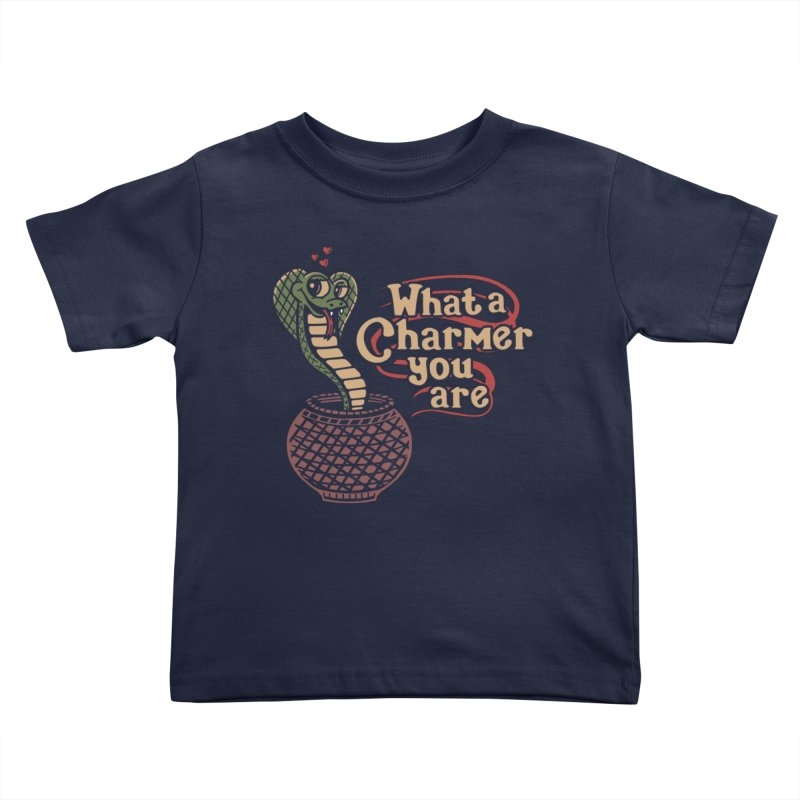 Charmed I'm Sure Kids Toddler T-Shirt by Made With Awesome
