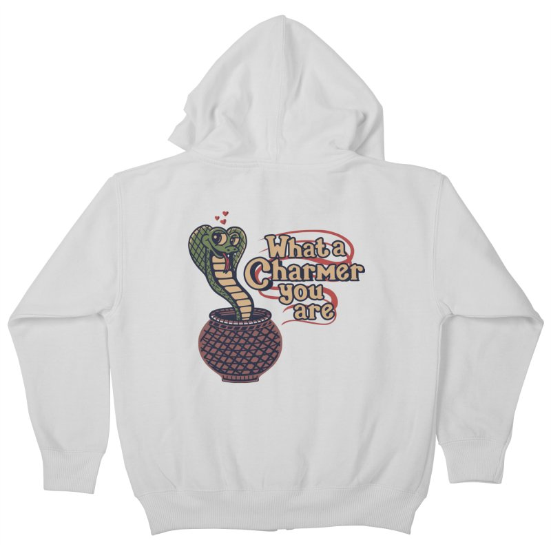 Charmed I'm Sure Kids Zip-Up Hoody by Made With Awesome