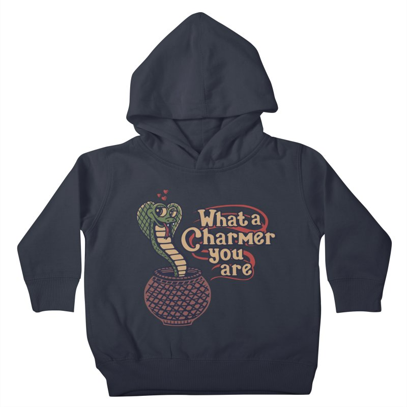 Charmed I'm Sure Kids Toddler Pullover Hoody by Made With Awesome