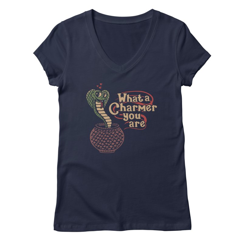 Charmed I'm Sure Women's V-Neck by Made With Awesome