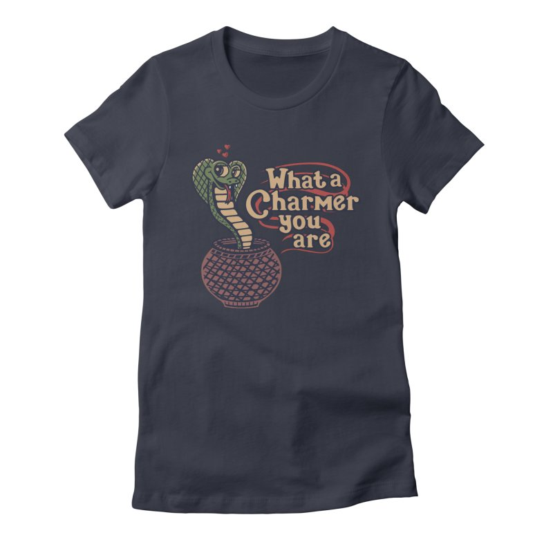 Charmed I'm Sure Women's Fitted T-Shirt by Made With Awesome