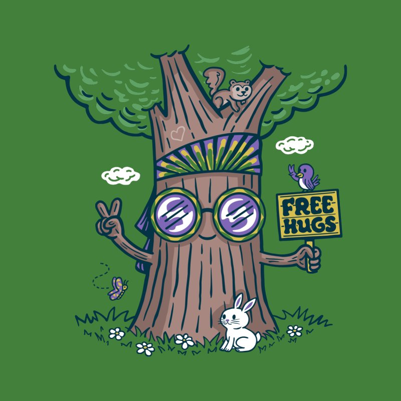 Tree Hugger   by Made With Awesome