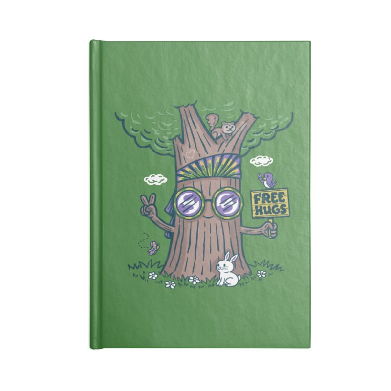 Tree Hugger Accessories Notebook by Made With Awesome