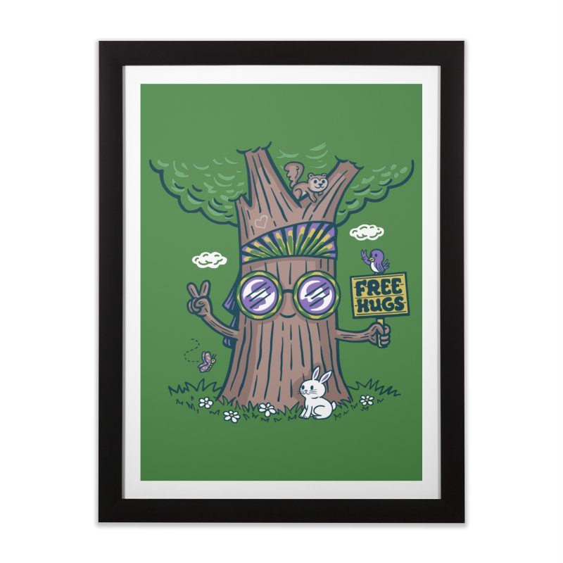 Tree Hugger Home Framed Fine Art Print by Made With Awesome