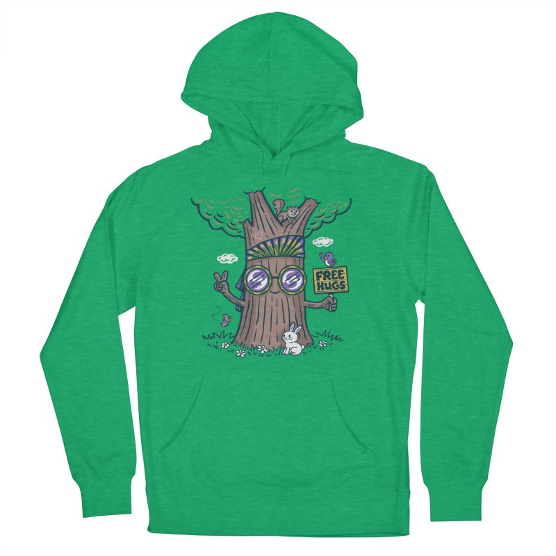 Tree Hugger Women's Pullover Hoody by Made With Awesome