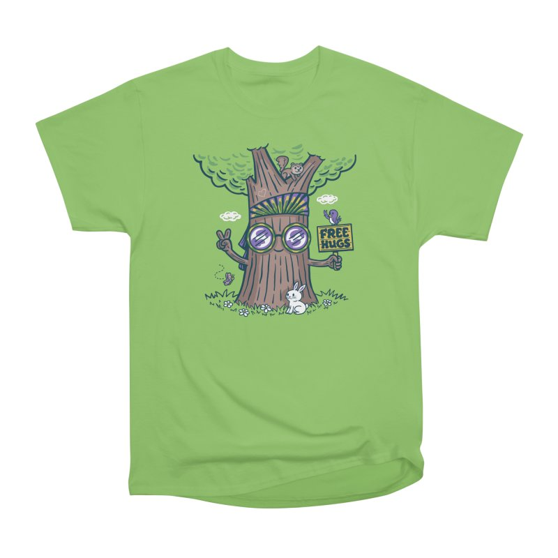 Tree Hugger Men's Heavyweight T-Shirt by Made With Awesome