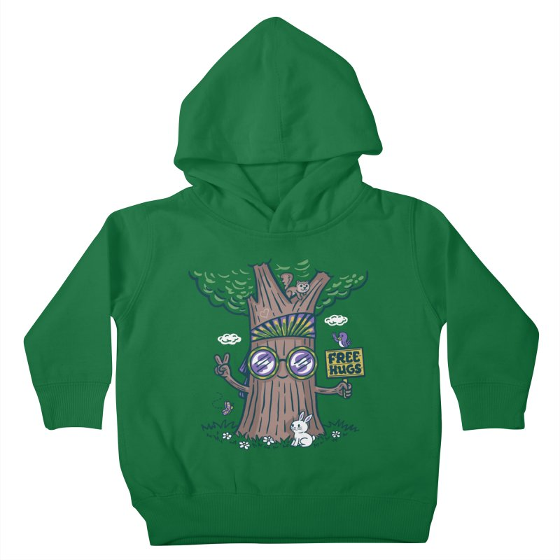 Tree Hugger Kids Toddler Pullover Hoody by Made With Awesome