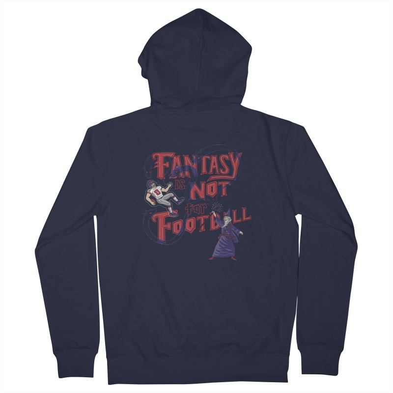Fantasy Not Football Women's Zip-Up Hoody by Made With Awesome