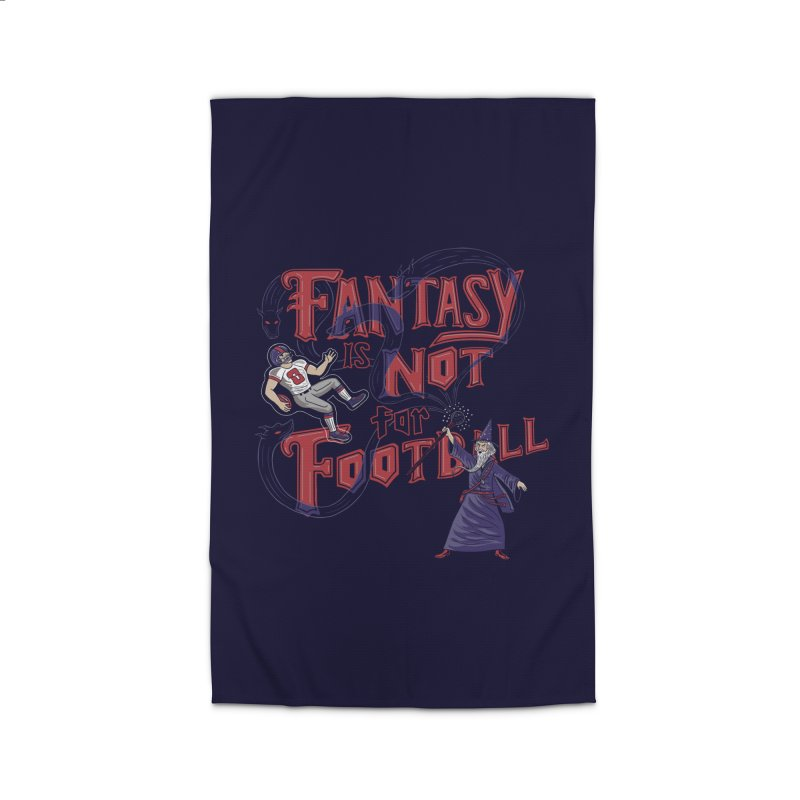 Fantasy Not Football Home Rug by Made With Awesome
