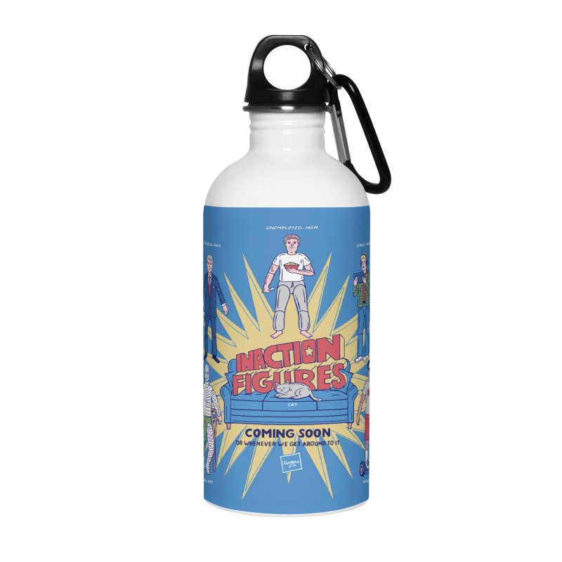 Inaction Figures Accessories Water Bottle by Made With Awesome