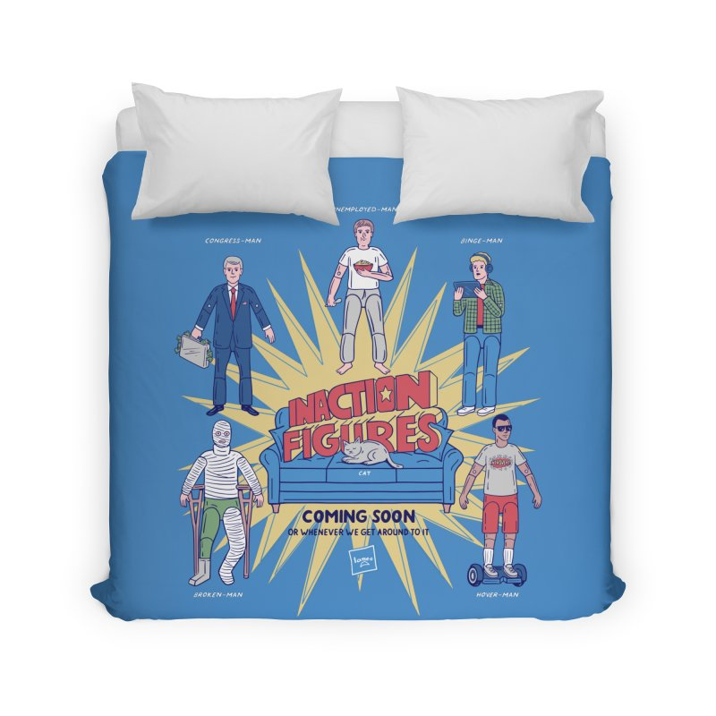 Inaction Figures in Duvet by Made With Awesome