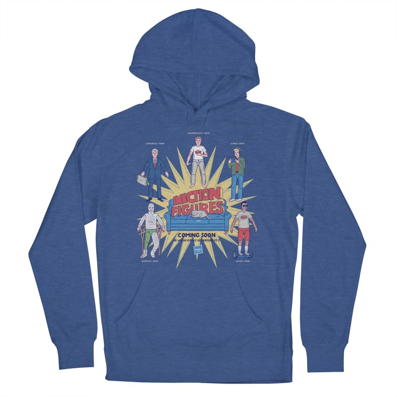 Inaction Figures Women's Pullover Hoody by Made With Awesome