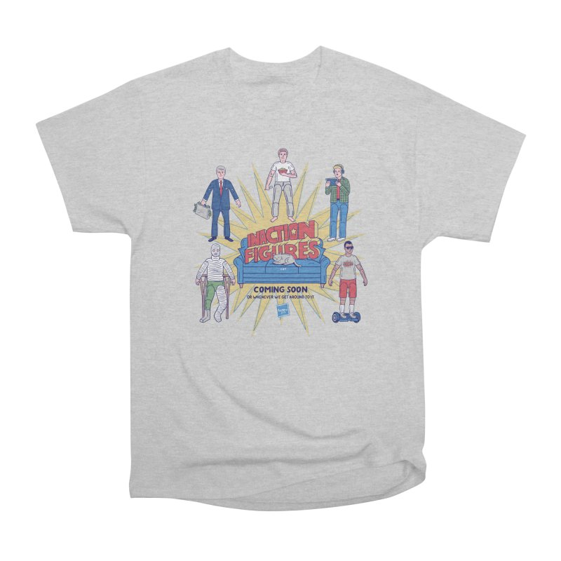 Inaction Figures Men's Heavyweight T-Shirt by Made With Awesome