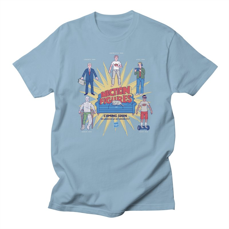 Inaction Figures Men's T-Shirt by Made With Awesome
