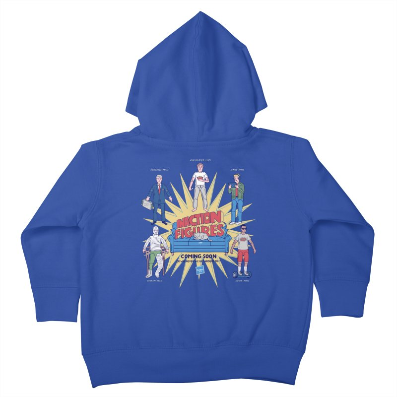 Inaction Figures Kids Toddler Zip-Up Hoody by Made With Awesome
