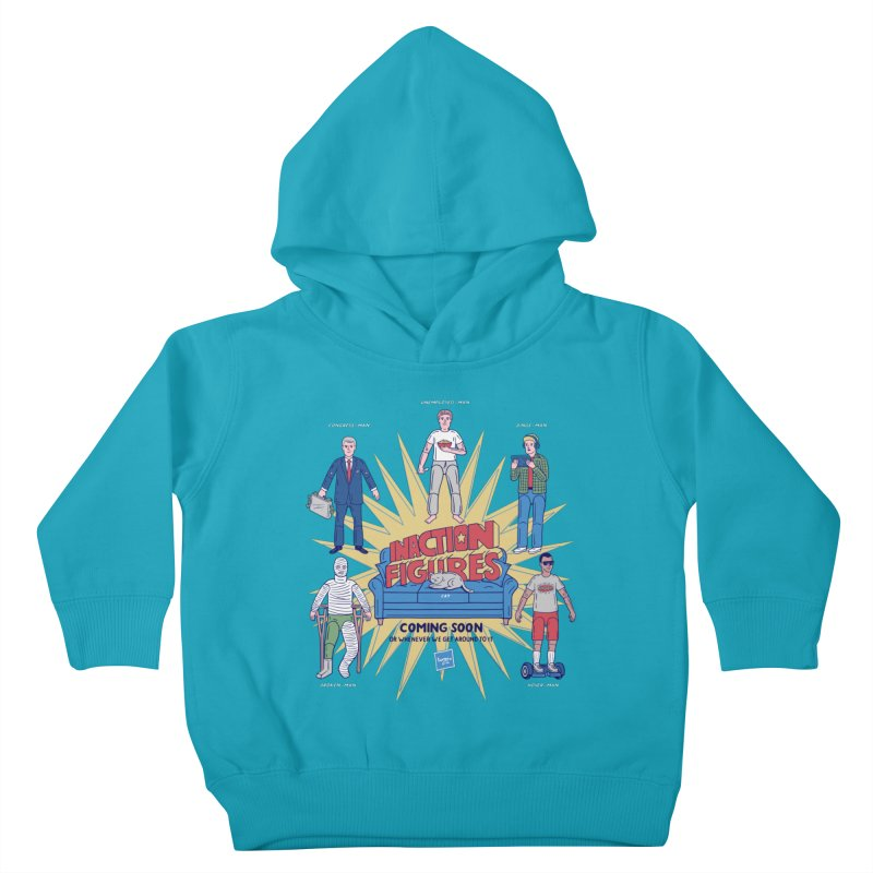 Inaction Figures Kids Toddler Pullover Hoody by Made With Awesome