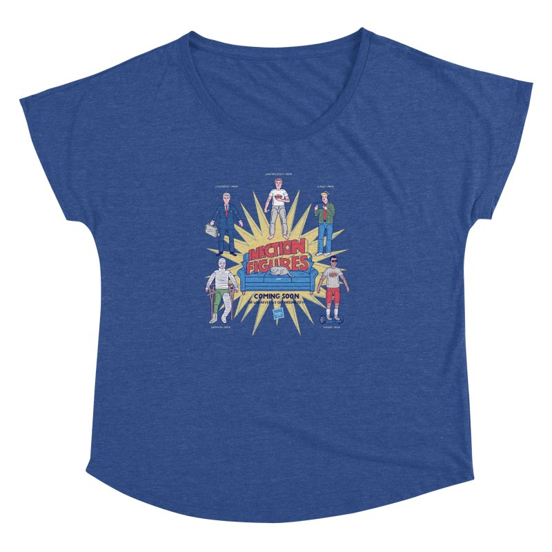 Inaction Figures Women's Dolman by Made With Awesome