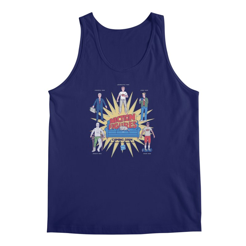 Inaction Figures Men's Tank by Made With Awesome