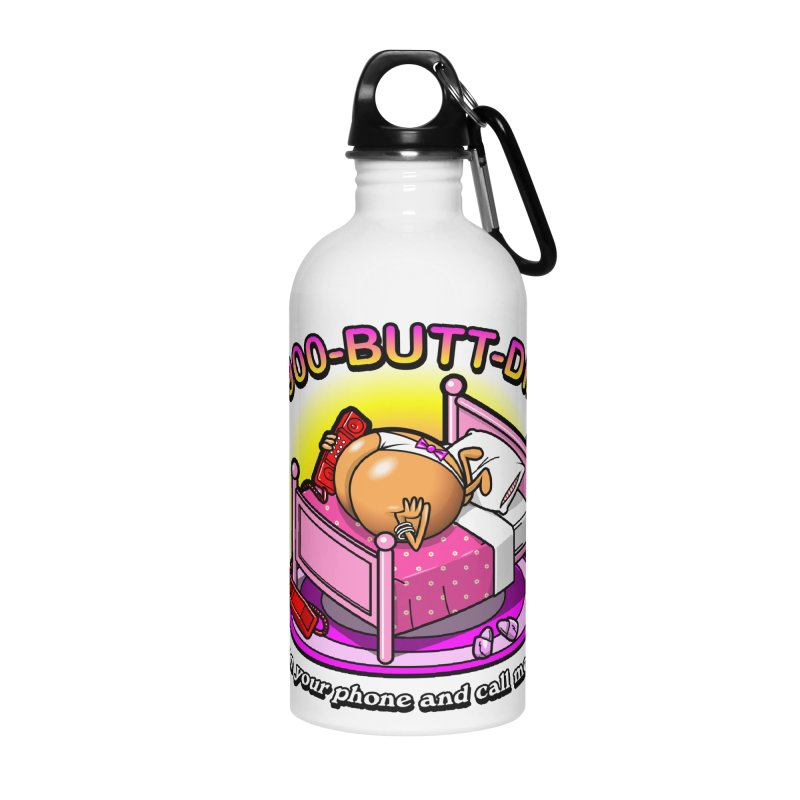 Booty Call Accessories Water Bottle by Made With Awesome