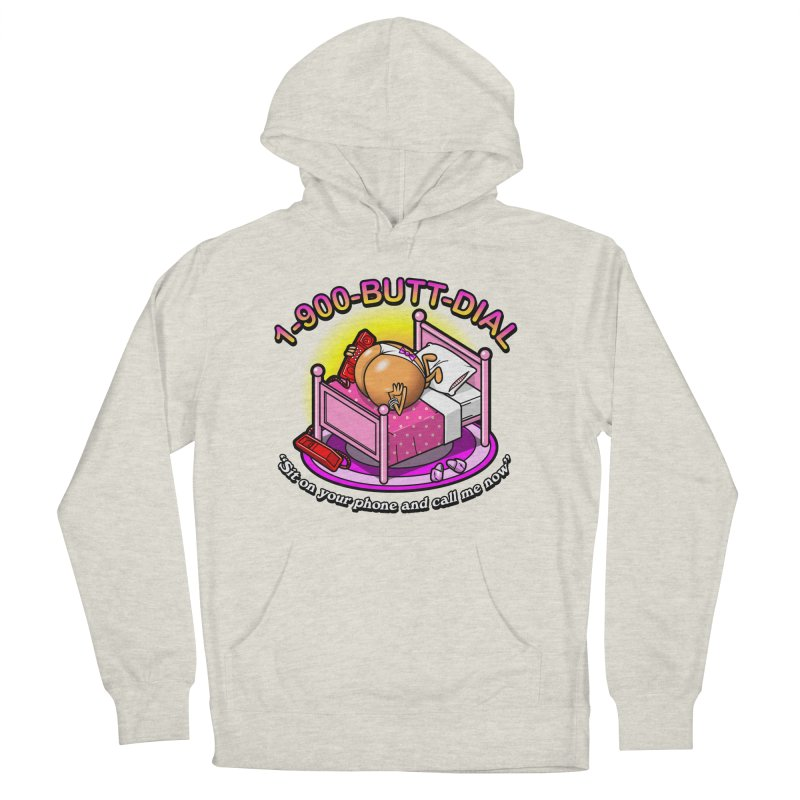 Booty Call Men's Pullover Hoody by Made With Awesome