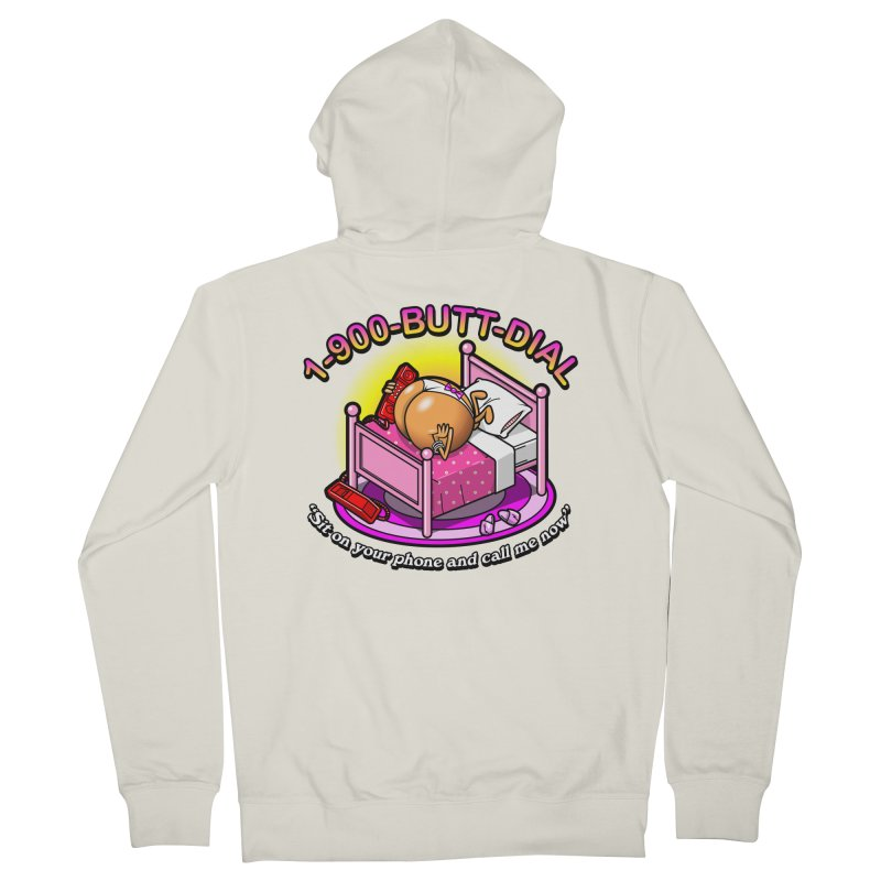 Booty Call Men's Zip-Up Hoody by Made With Awesome