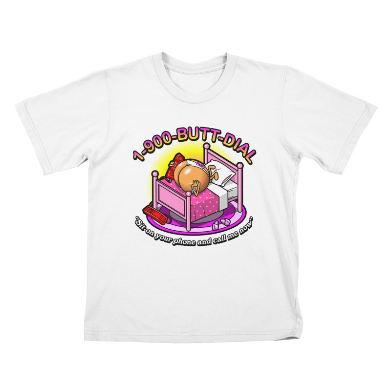 Booty Call Kids T-Shirt by Made With Awesome