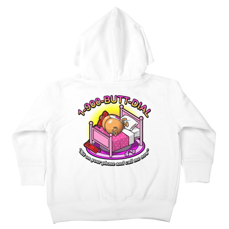 Booty Call Kids Toddler Zip-Up Hoody by Made With Awesome