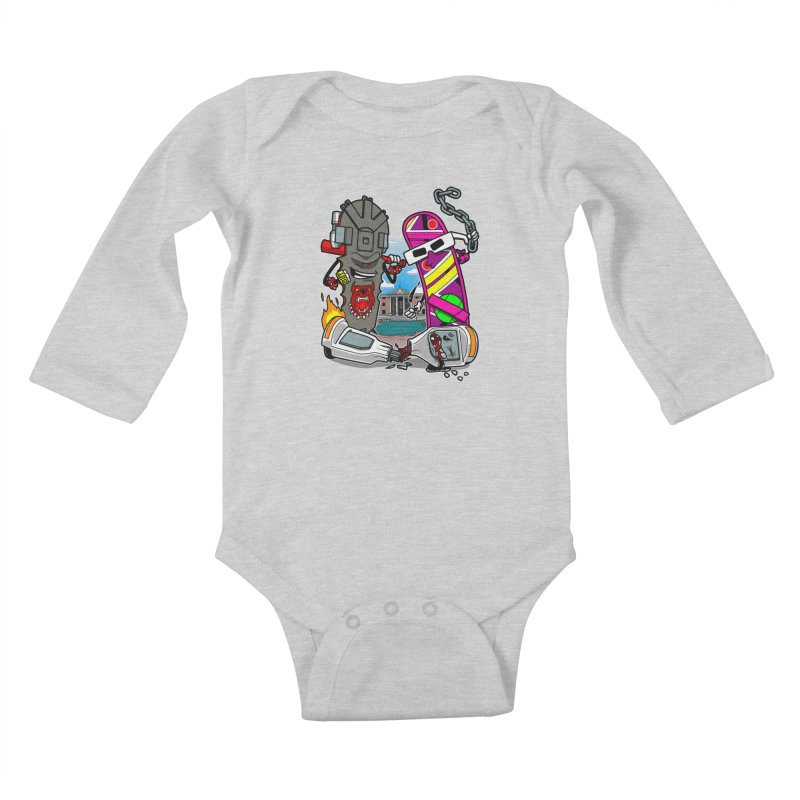 No HOVA Kids Baby Longsleeve Bodysuit by Made With Awesome