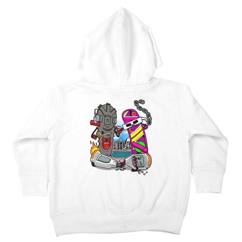 No HOVA Kids Toddler Zip-Up Hoody by Made With Awesome