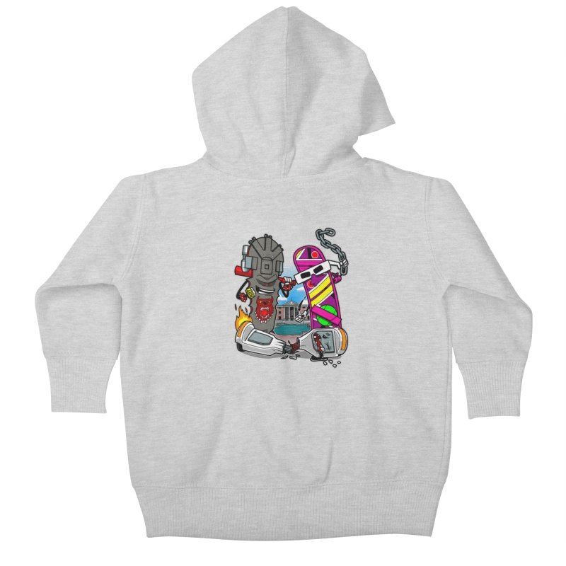 No HOVA Kids Baby Zip-Up Hoody by Made With Awesome