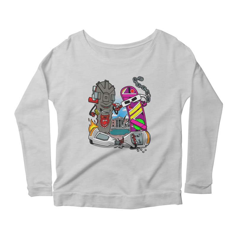 No HOVA Women's Longsleeve Scoopneck  by Made With Awesome