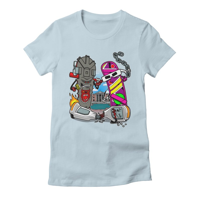 No HOVA Women's Fitted T-Shirt by Made With Awesome