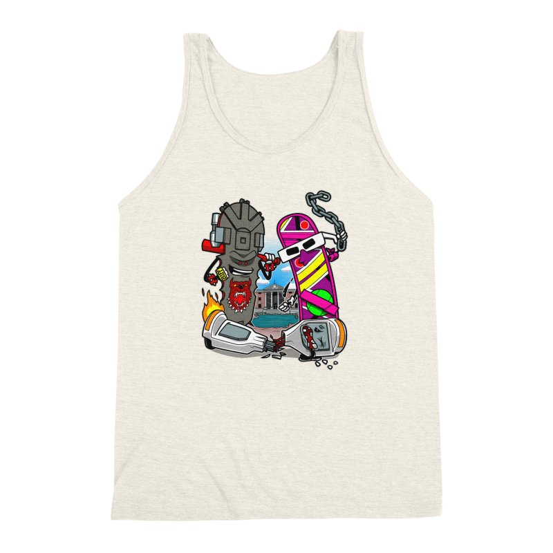 No HOVA Men's Triblend Tank by Made With Awesome