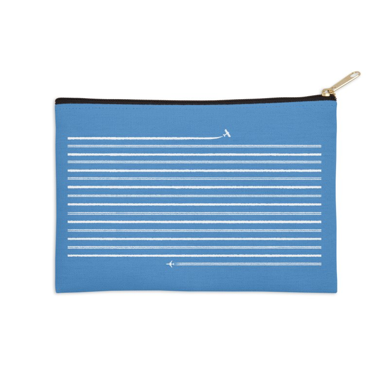 Jet Streams Accessories Zip Pouch by Made With Awesome