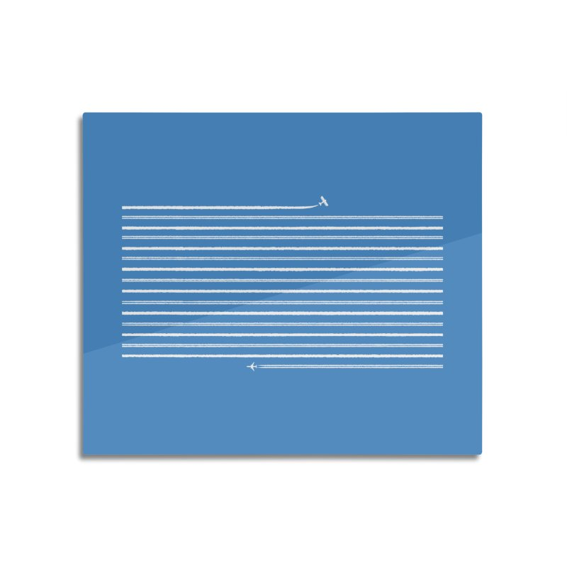 Jet Streams Home Mounted Acrylic Print by Made With Awesome