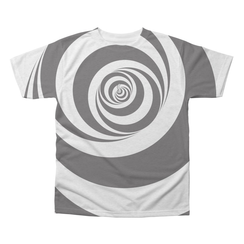 The Wormhole Men's Triblend All Over Print by Made With Awesome