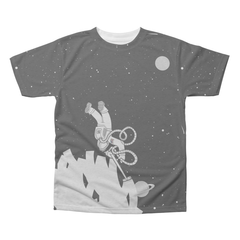 Vacuum of Space Men's Triblend All Over Print by Made With Awesome