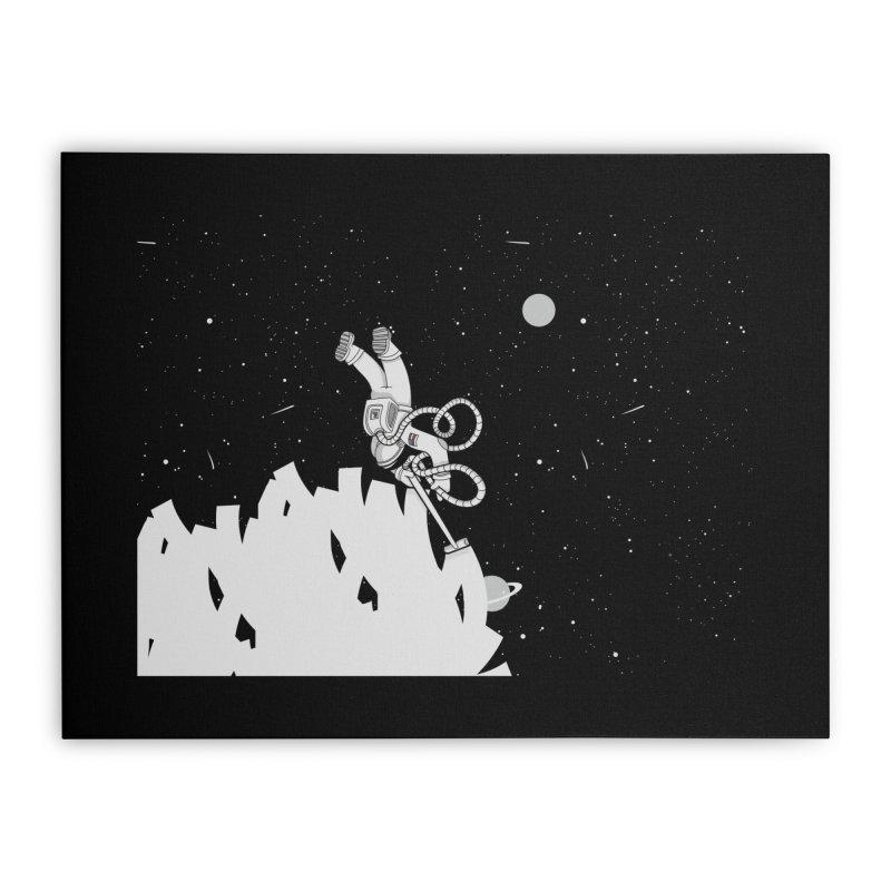 Vacuum of Space Home Stretched Canvas by Made With Awesome