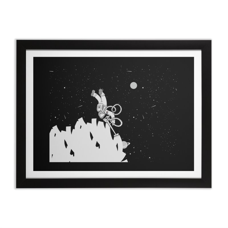 Vacuum of Space Home Framed Fine Art Print by Made With Awesome